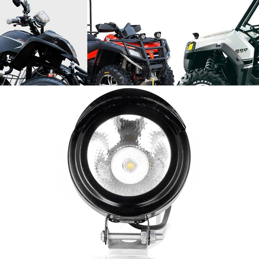 High Power Led Spot Light Headlight 12v 24v Universal Wiring Driving Lights Motorcycle Including Indian For Auto Car Off Road Bike Automotive