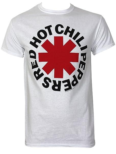 Red Hot Chili Peppers - Camiseta - Estampado - para Hombre: Amazon.es: Ropa y accesorios