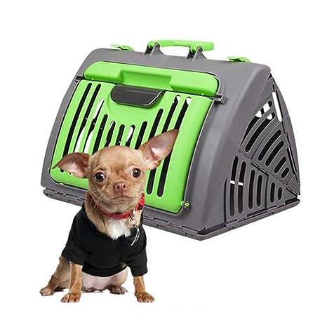 FXQIN Transportín para Perros Portador de Viaje Plegable para ...