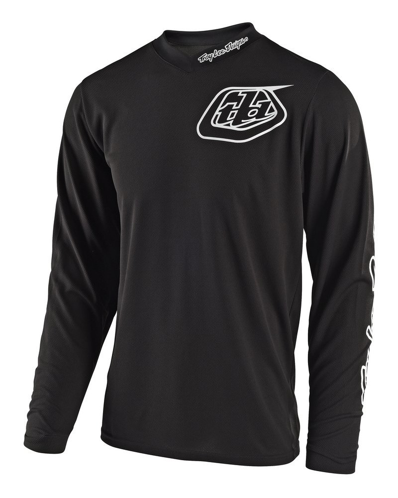 Troy Lee Designs Unisex GP Mono Jersey (Black, ADULT  XXX-Large)