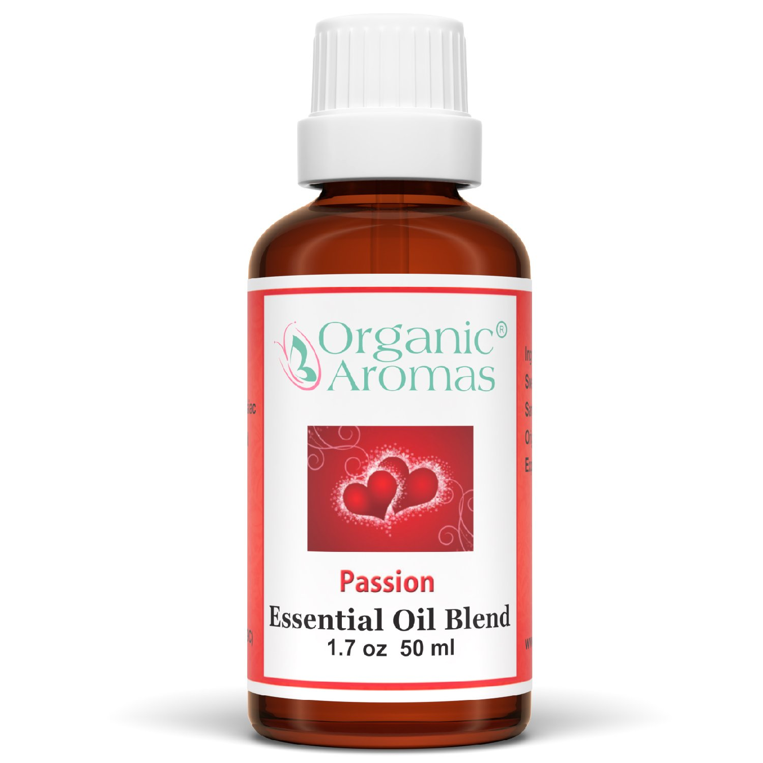 Passion Essential Oil Blend 100% Pure for Aromatherapy - Therapeutic Grade - Works well with Organic Aroma Diffusers - 50 ml bottles