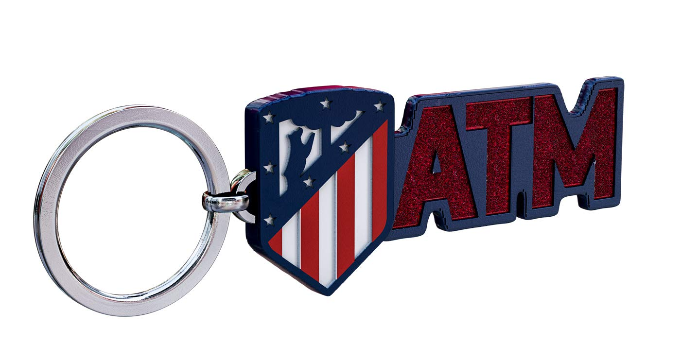 Amazon.com: Atletico Madrid - Llavero de metal con escudo ...