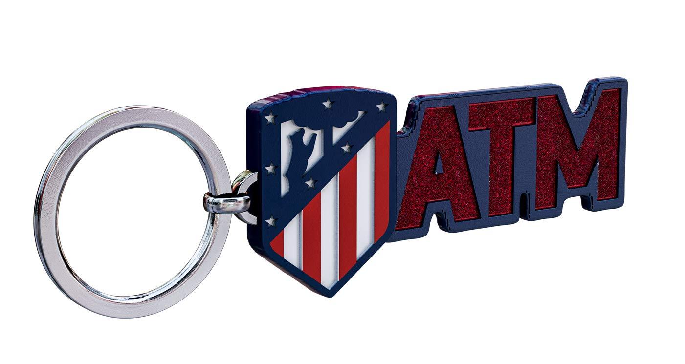 Amazon.com: Atletico Madrid - Llavero de metal con escudo ...