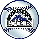 LicensedMLB Colorado Rockies Party Laminated Cutouts Decoration, Paper, 12""