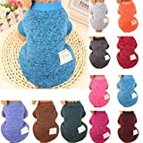 #5: vmree Dog Apparel, Pet Dogs Puppy Fleece Sweater Clothes Autumn Winter Warm Sweater