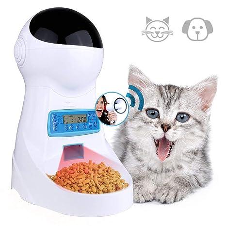 3L Alimentador Automático Del Gato Para Los Perros Del Animal Doméstico Conejos Tazón De Fuente Del ...