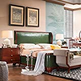 silver bedroom set. XieLiang Bedroom Set Featuring antique Style Platform green leather Bed and  Matching 6pc furniture deep Cherry Amazon com Silver Sets Furniture Home Kitchen