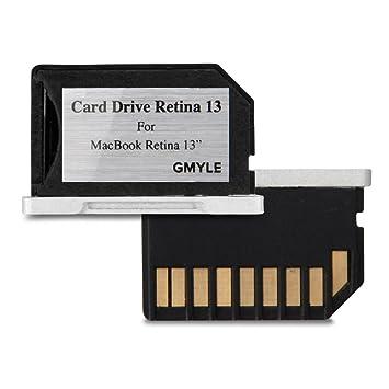 GMYLE Macbook Unidad de Almacenamiento Mini, Adaptador de Tarjeta ...