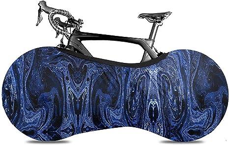 Bike Cover,Cubierta De Bicicleta De Mármol Azul Abstracto para ...