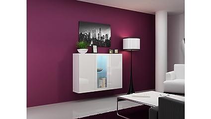 Credenza Moderna Lunga : Bmf vigo wc cassettiera credenza armadio pensile in high gloss