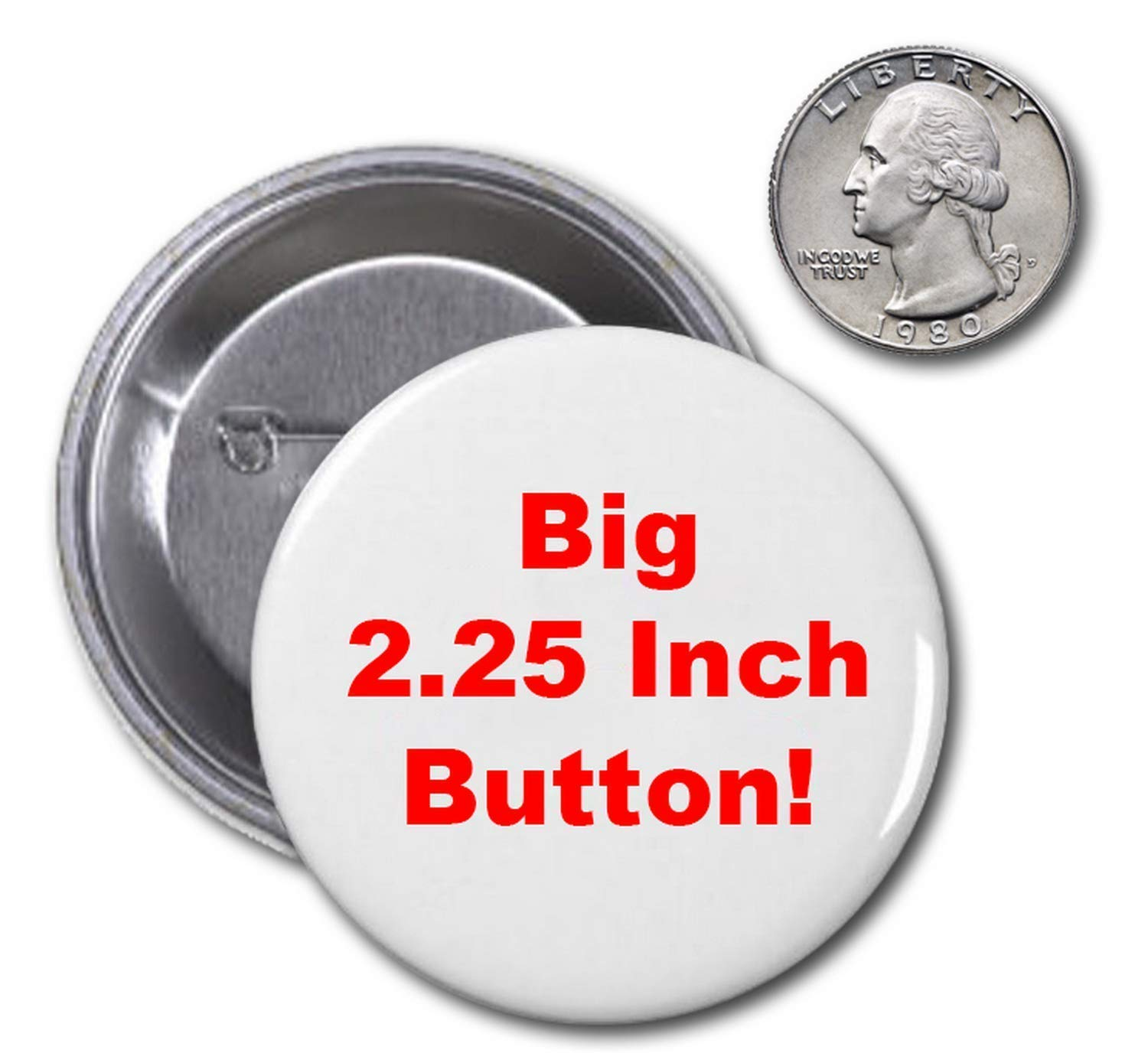 Cute Cuddly Gerbils for Trump 2020 6-Button Rally Pack 2.25 Inch Big Funny Pins Hamster Badges