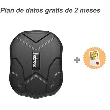 Tiempo Real Mini Portátil Localizador GPS, Incluye Tarjeta SIM