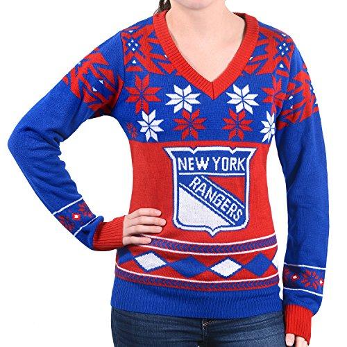 00d3ee74183 New York Rangers Ugly Christmas Sweater | WebNuggetz.com