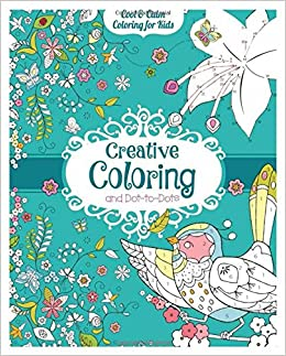 creative coloring and dot to dots cool calm coloring for kids carlton publishing group 9781438008837 amazoncom books