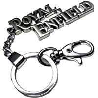 Generic Silver Royal Enfield Key Case