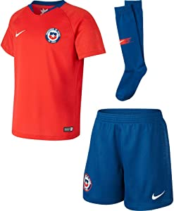 Nike 2018-2019 Chile Home Little Boys Mini Kit