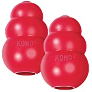 KONG Classic Medium Dog Toy Red Medium Pack of 2