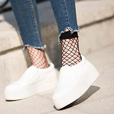 neue Liste bekannte Marke viel rabatt genießen Netzstrümpfe Netzstrumpfhose Netz Socken Muster Kniestrümpfe ...