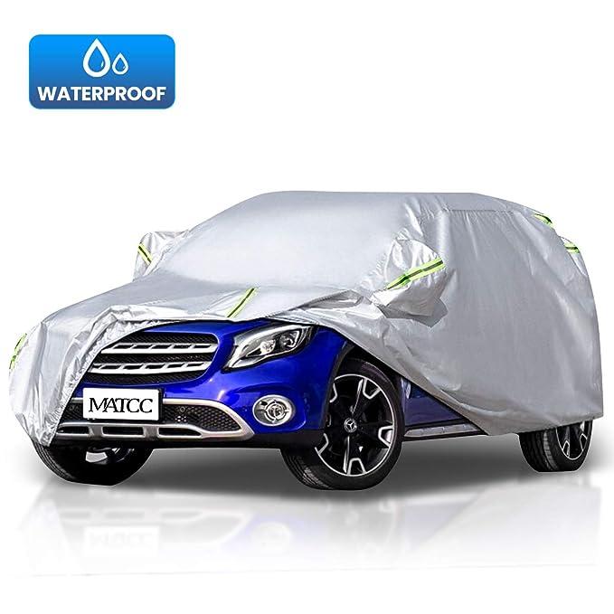 8 opinioni per MATCC Copriauto Telo SUV Copriauto Impermeabile Pieghevole Anti UV 210T Anti