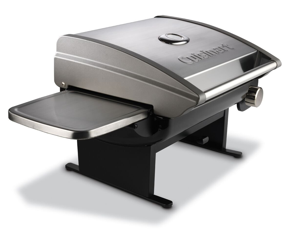 Amazon.com: Cuisinart CGG 200 All Foods 12,000 BTU Tabletop Gas Grill:  Patio, Lawn U0026 Garden