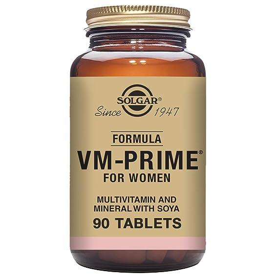Solgar Fórmula VM Prime Women - 90 Tabletas: Amazon.es: Salud y cuidado personal