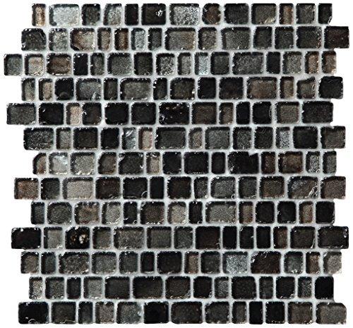 Dal-Tile 1RANDMS1P-JT04 Jewel Tide Tile SEA Glass Shimmer x 13 1/8