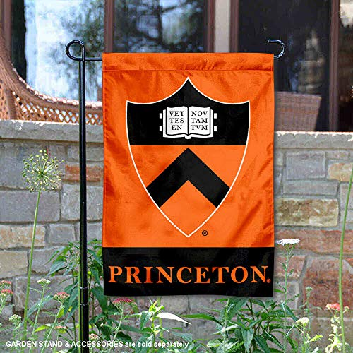 (College Flags and Banners Co. Princeton Tigers Shield Garden Flag)