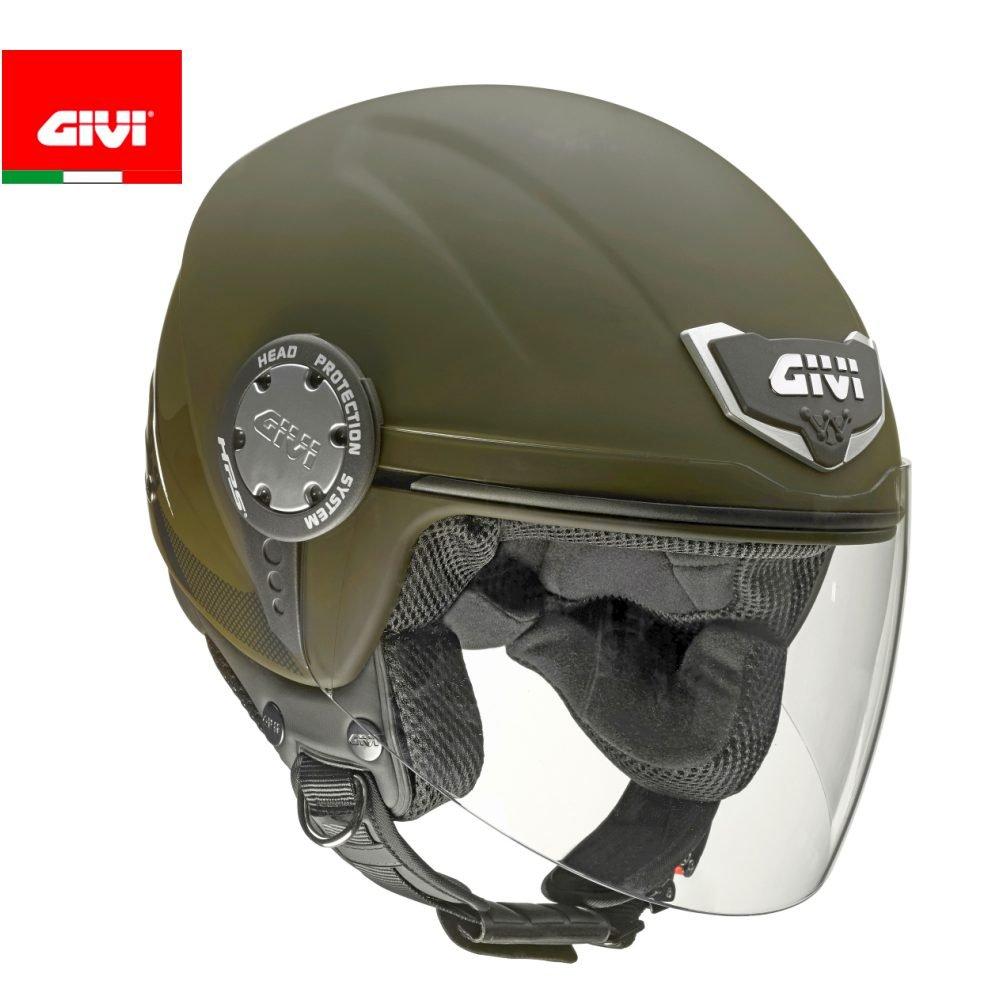 Giallo Fluo GIVI Casco H104FSLNY57 10.4F Solid