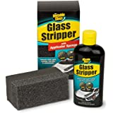 Invisible Glass 91411 3.38-Ounce Glass Stripper Water Spot Remover Kit Eliminates Coatings, Water Spots, Waxes, Oils and…