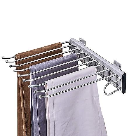 Estante for Pantalones Aleación de Aluminio En el gabinete ...