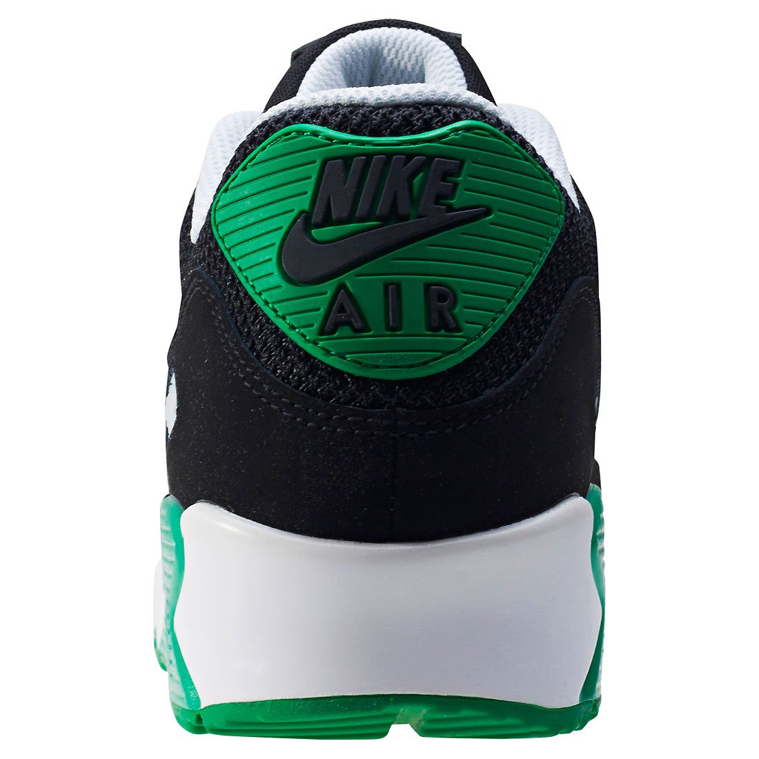 new concept 4bc20 eb037 Nike AIR MAX 90 ESSENTIAL 537384 067 Black Green Trainers  Amazon.co.uk   Shoes   Bags