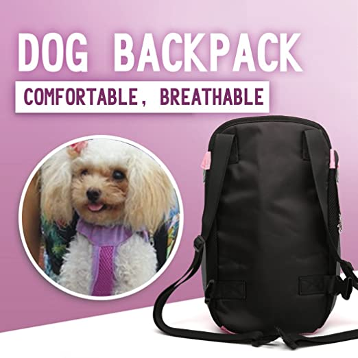 Amazon.com : Xiaoyu Pet Carrier Backpack, Adjustable, Hands-free, Legs Out and Breathable Pet Dog Cat Front Carrier Backpack for Walking, Hiking, ...