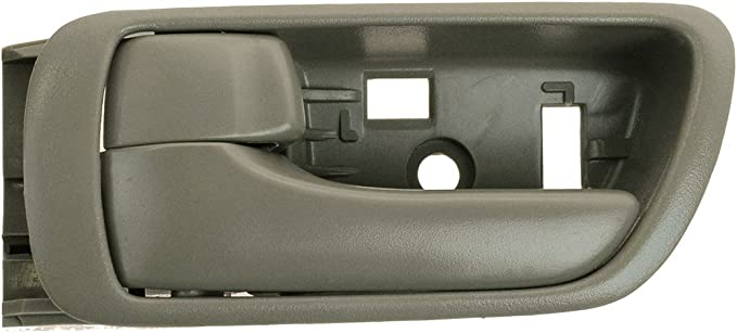 For 02-06 Toyota Camry Door Handle Left Side Driver LH Exterior Outside Black