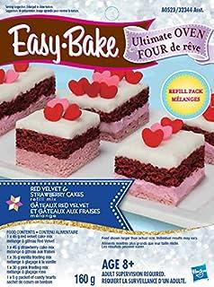 Easy bake refill super pack net wt 95oz270g real food appliances easy bake ultimate oven red velvet and strawberry cakes refill forumfinder Images