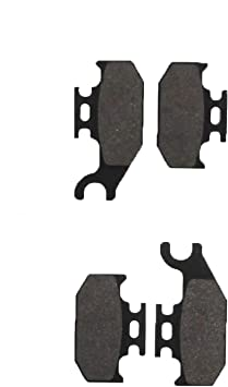 Front Carbon Brake Pads For 2011-2014 2012 2013 Suzuki LT-A 750 X King Quad