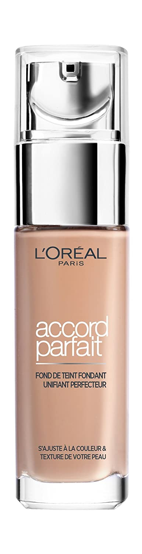L'Oréal Paris - Fond de Teint Fluide Accord Parfait Cappuccino Doré (8.D) 30ml 3600523497799