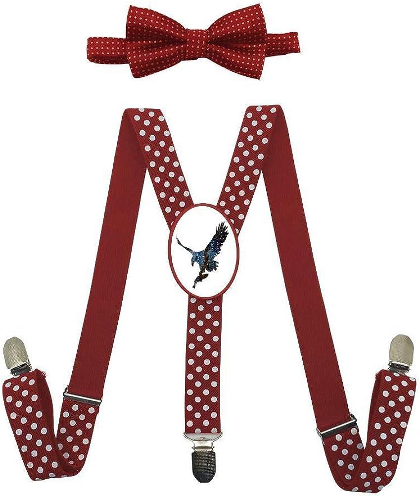 Predator Eagle Silhouette Childrens Fashion Adjustable Y-Type Suspension Belt Suit