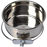 Blytieor Stainless Steel Hanging Pet Bowl,Food and Water Bowl for Dog Cat