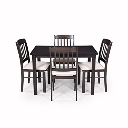 Royaloak Divine Four Seater Dining Table Brown Amazon In Home