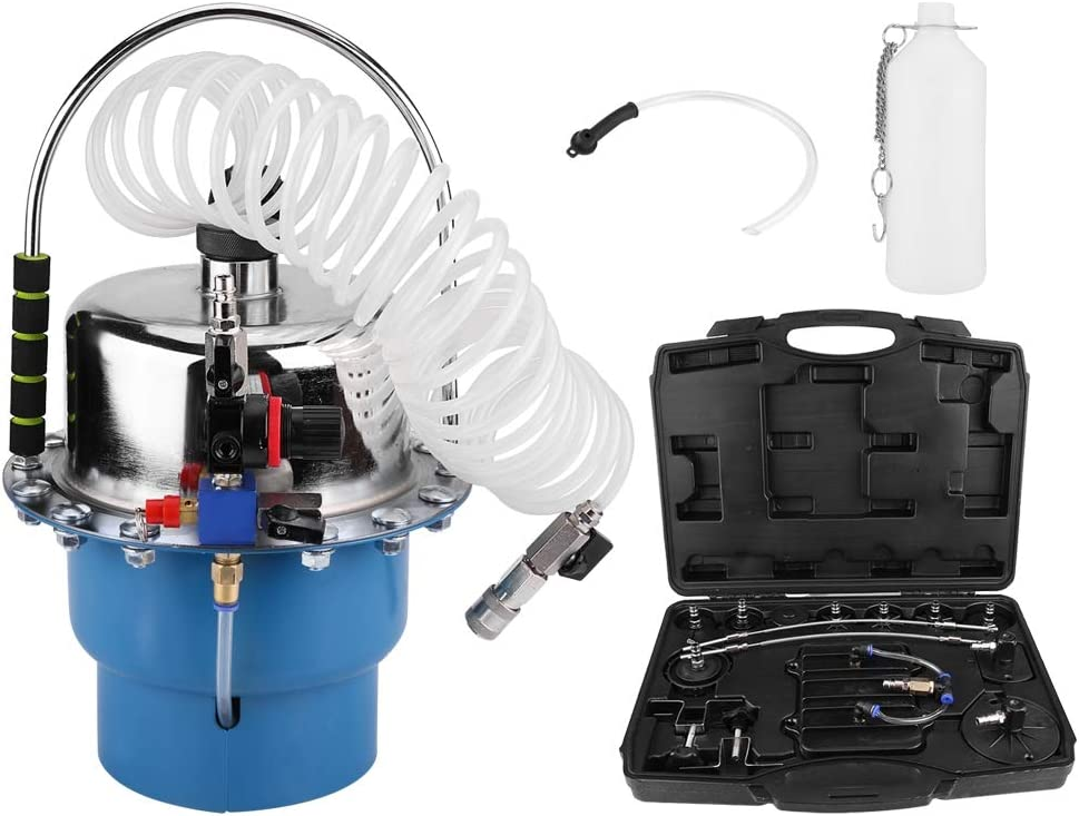 Professional Power Brake Bleeder Kit Air Pressure Pneumatic Brake Bleeding Tool