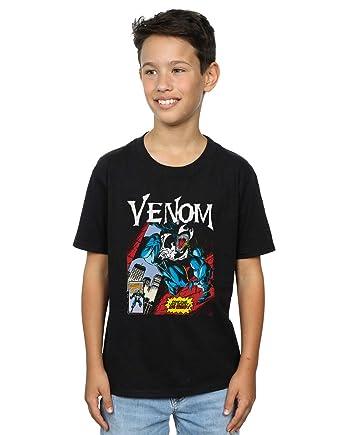 17a7b024a1 Marvel Niños Venom Read Our Lips Camiseta  Amazon.es  Ropa y accesorios