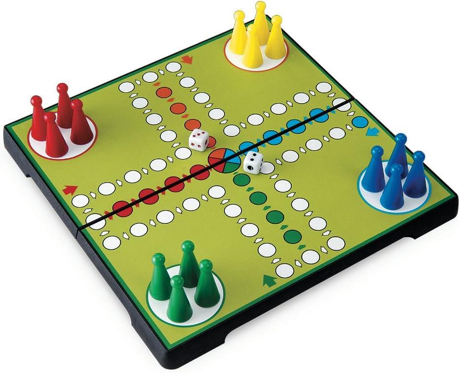 Juego JU01012 - Travel Game, Ludo, Viaje y de Bolsillo Infantil, magnético: Amazon.es: Juguetes y juegos