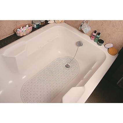 Freelance PVC Shower Mat - 16x11, Transparent