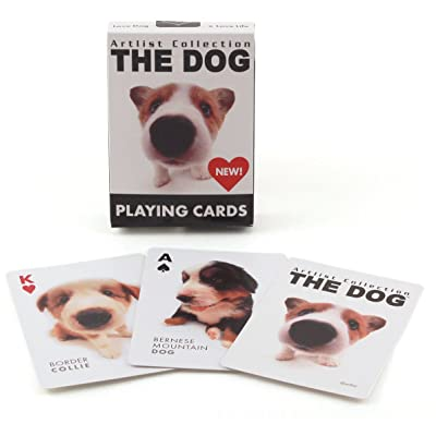 Bicycle The Dog Artlist Collection Playing Cards: Sports & Outdoors