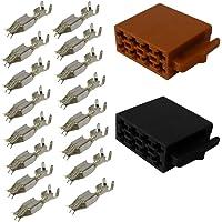 AERZETIX: 2X Conectores Enchufe ISO 16PIN Universal