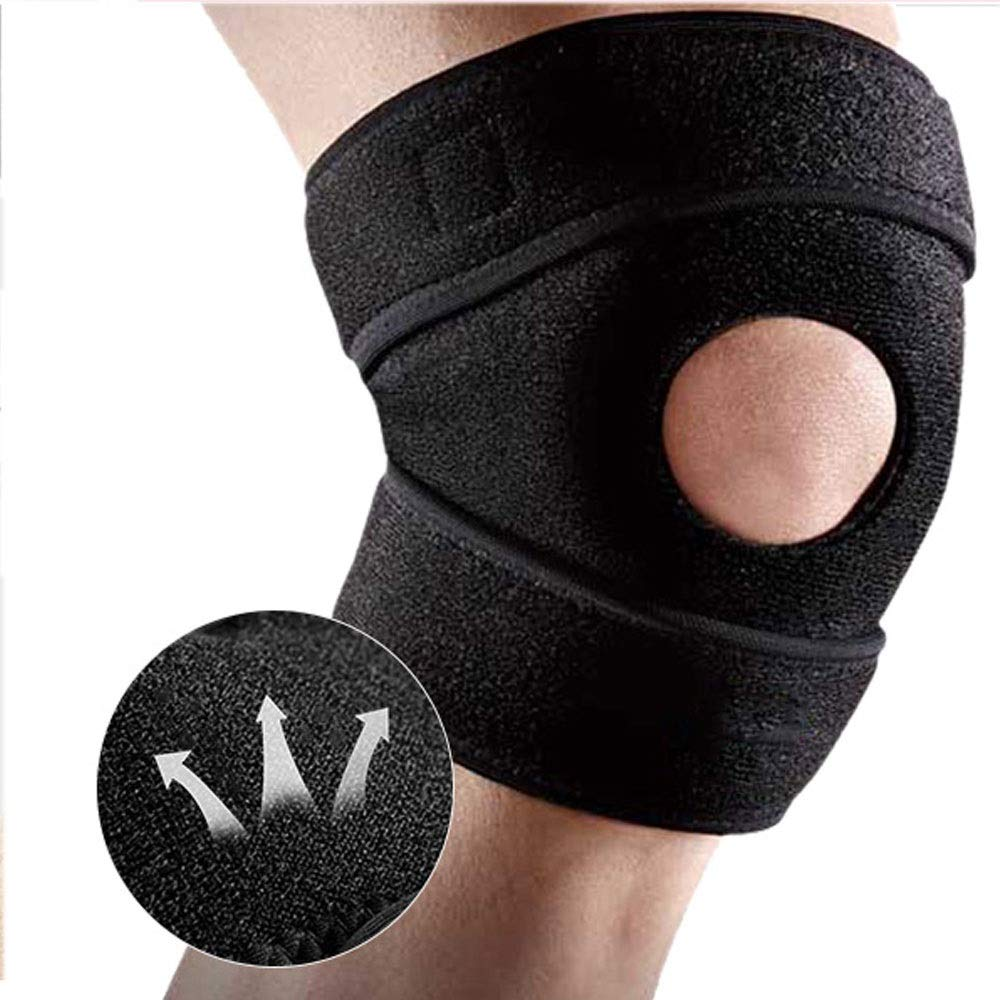 ZCF Basketball Badminton Running Sports Soccer Knee Injuries Men and Women Warm with Meniscus Knee Protectors (Color : B)