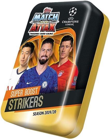 Match Attax 2019//20 Mega Lata Super Boost arietes 50 tarjetas incluso limitado