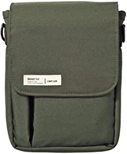 LIHIT LAB Belt Bag, 7.1 x 5.1 Inches, Olive (A7574-22)