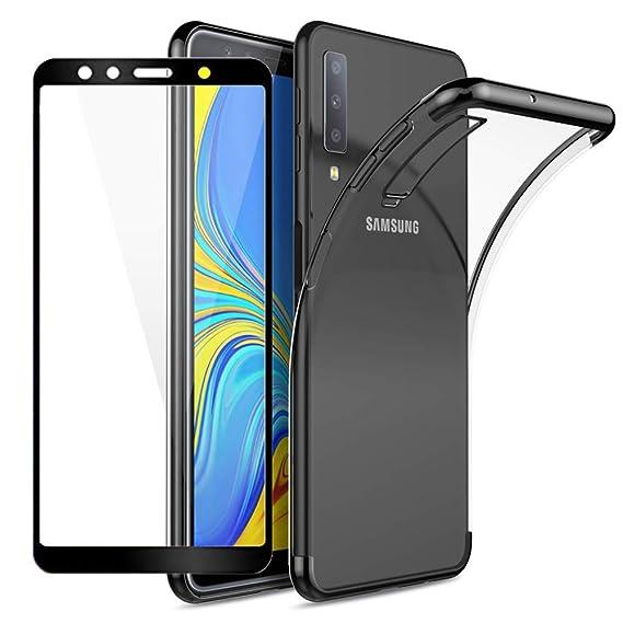 sale retailer 79eb7 3b4f9 Amazon.com: BT-Share for Samsung Galaxy A7 (2018)/A750 Case, Premium ...