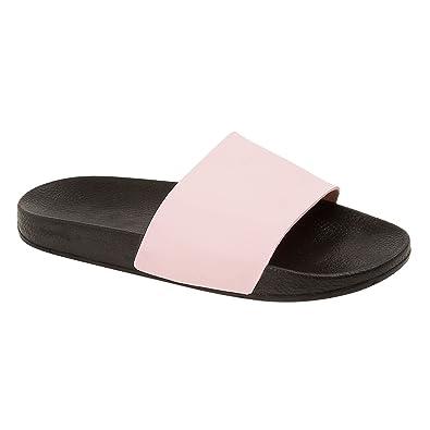Mens Sports Beach Slider Slippers Mule Flip Flops Sandals Size UK 7 8 9 10 11 12